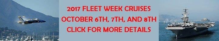 Fllet Week public cruises 2017