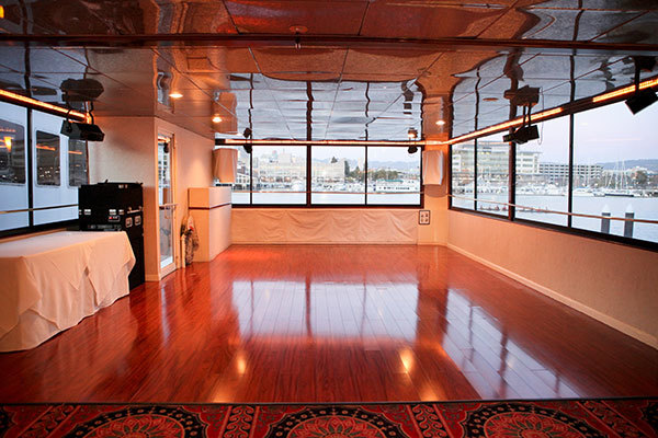 yacht interior dancing