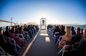 Bay Area wedding cruise