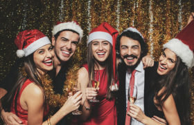 why have your company office holiday christmas party on San Francisco Bay
