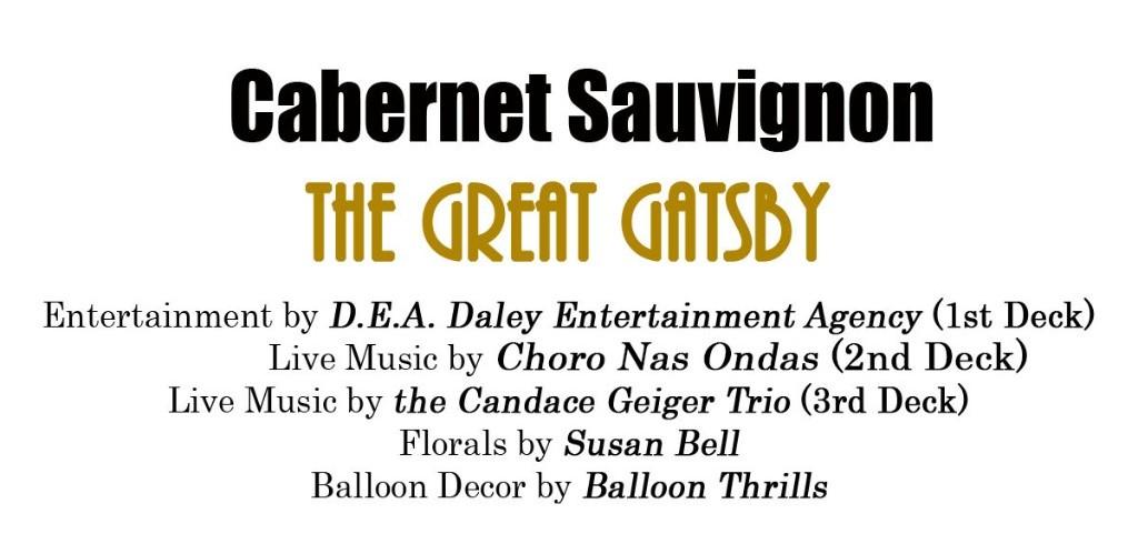 Showcase event Cabernet Commodore vendor theme