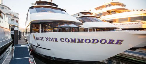 commodore events yacht charter business meetings