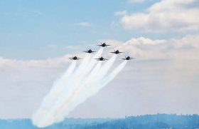 Fleet Week Air Show Blue Angels Commodore