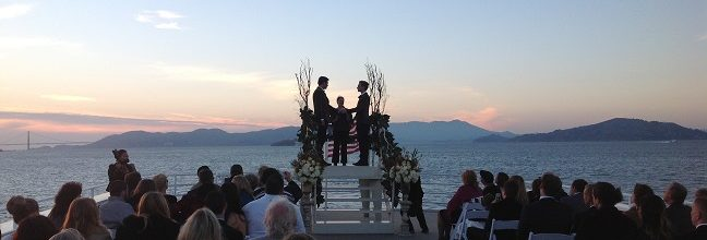 Commodore yacht charter wedding