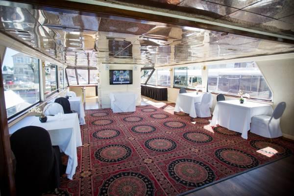 yacht interior dancing